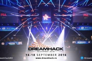 Dreamhack Bucharest 2016 va avea loc între 16-18 septembrie