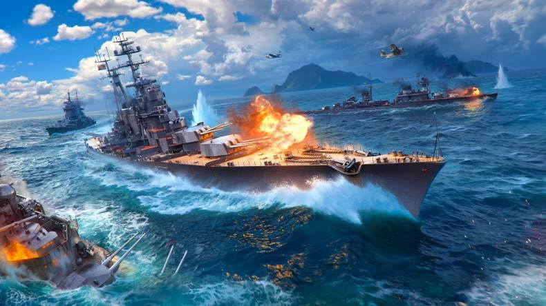 World of Warships update 0.5.4