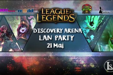 Turneu League of Legends la Discovery Arena