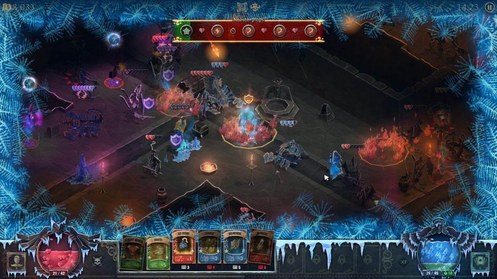 Book of Demons gameplay