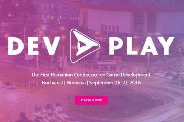 DEV.PLAY – prima conferință de game development organizată în România