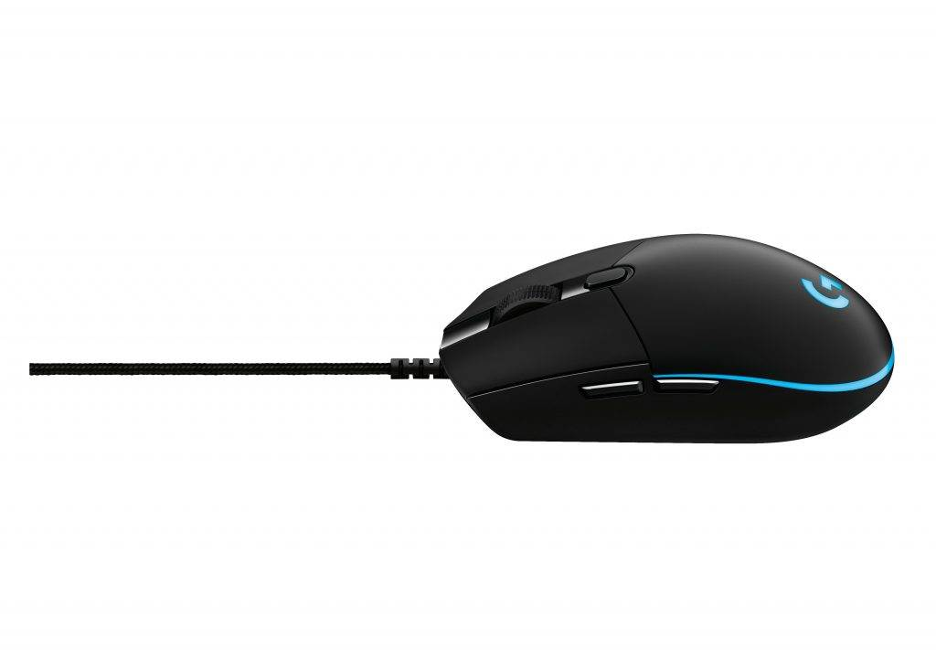G Pro Gaming Mouse Left Side