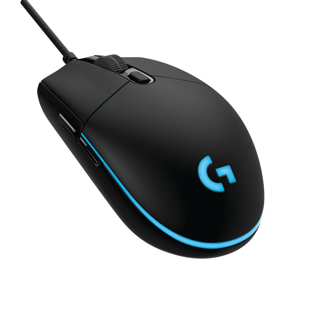 G Pro Gaming Mouse Rear Left Side