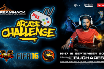 PGL Arcade va debuta la Dreamhack Bucharest 2016