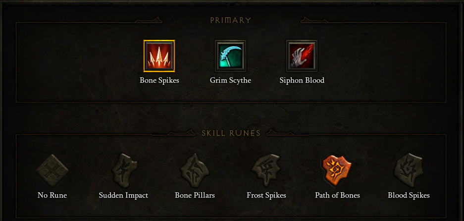 Bone Spikes