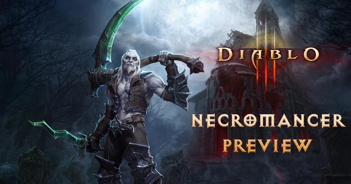 Diablo 3 Necromancer Preview