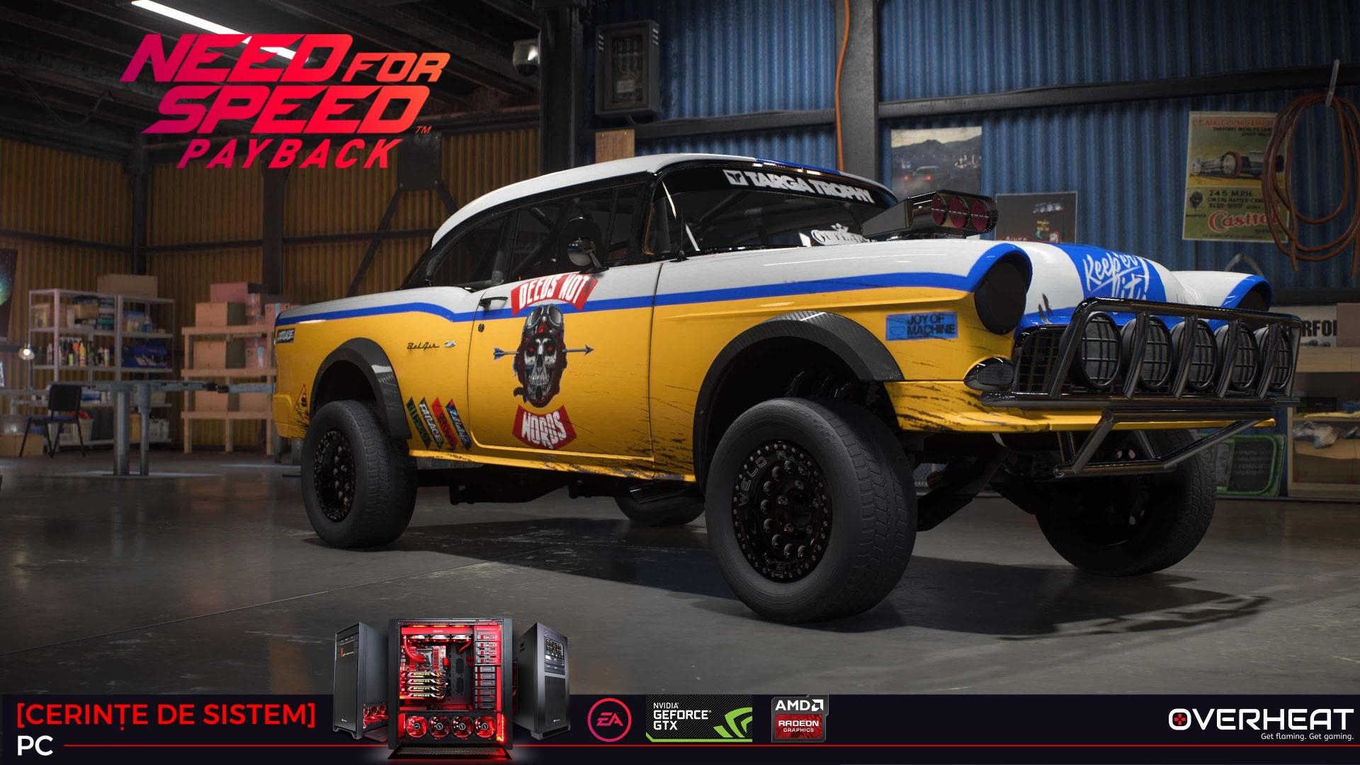 Need for Speed Payback cerinte de sistem