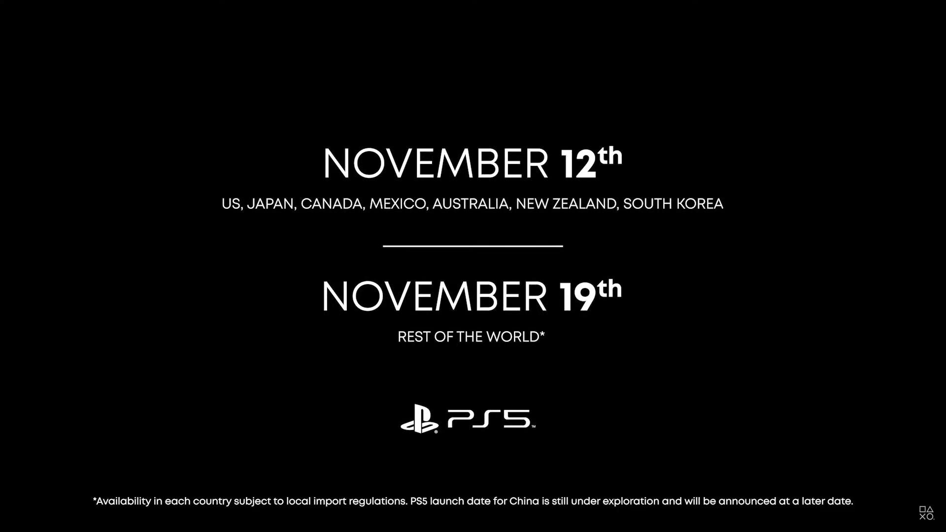 Data lansare PS5