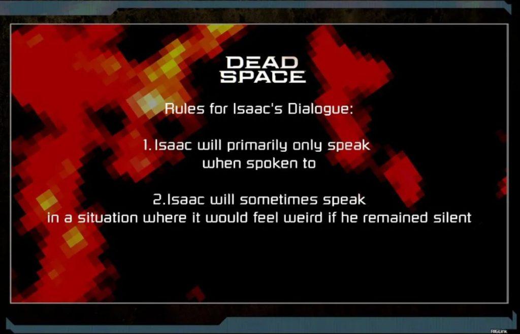 Dead Space Isaac dialog