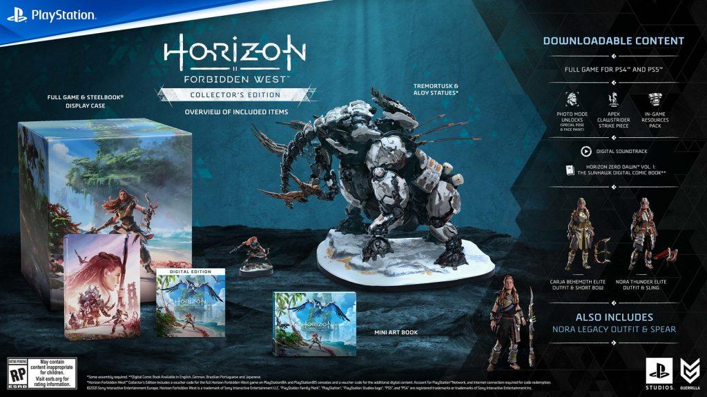 Horizon Forbidden West Collector's Edition