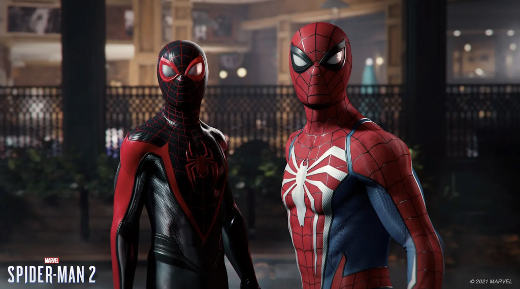 Spider-Man 2 Peter+Miles
